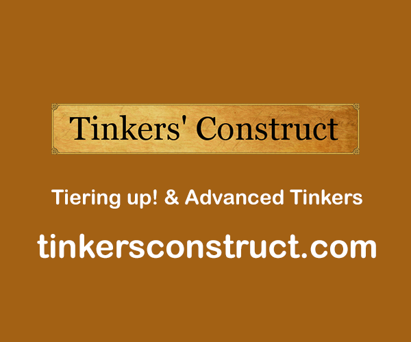 Tiering up! & Advanced Tinkers
